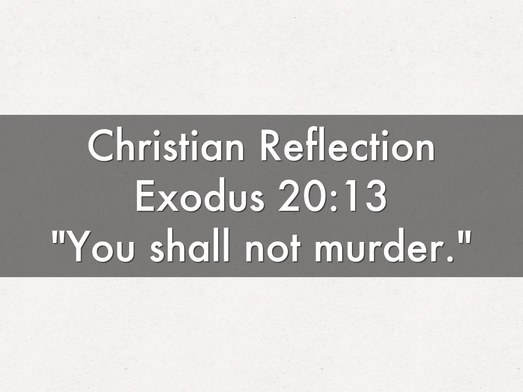 christianity reflection