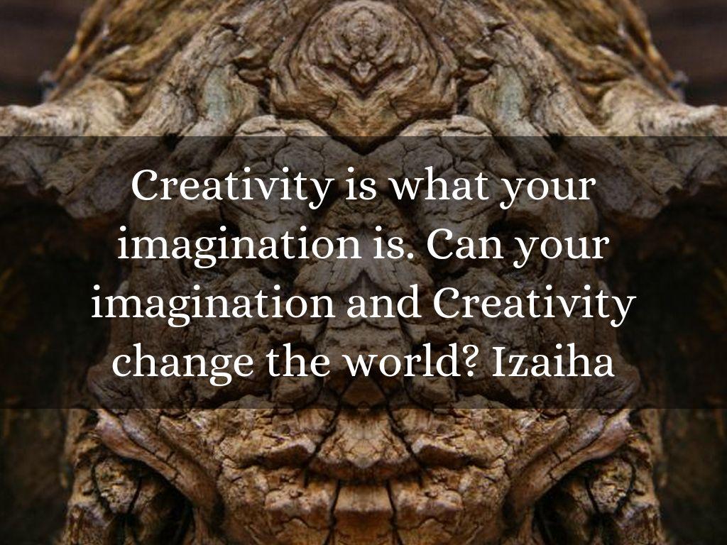 Dissertation of imagination