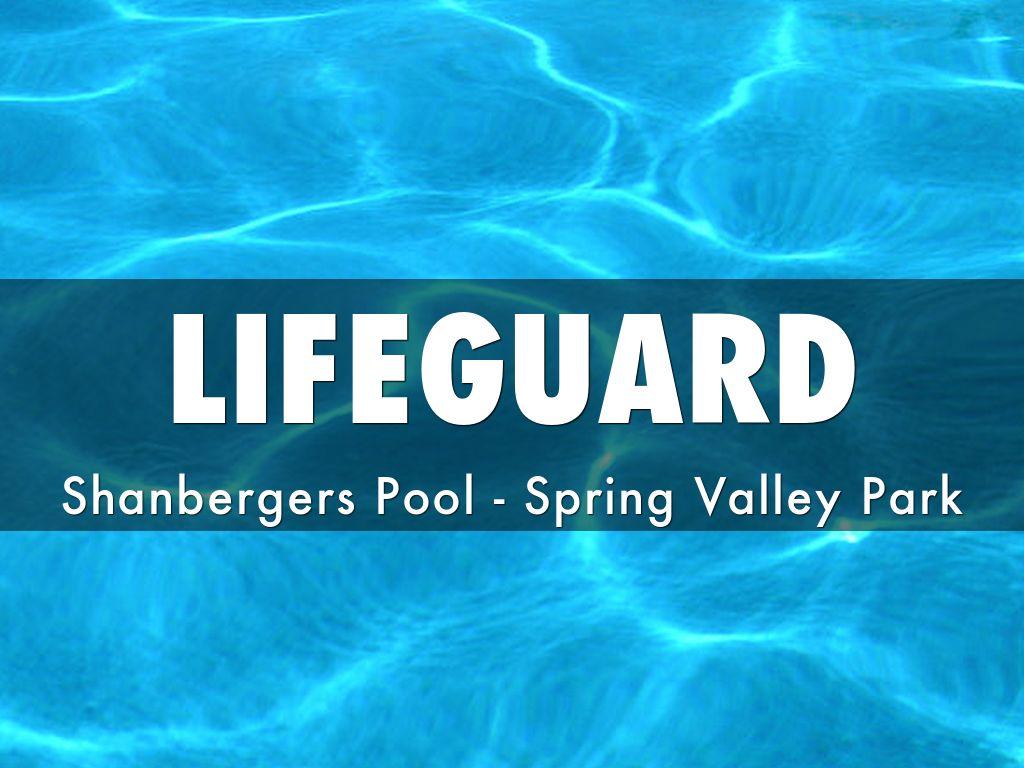 Employee Highlights Lifeguard By Tjmac921