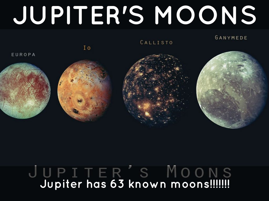 how much moons does jupiter have - photo #22