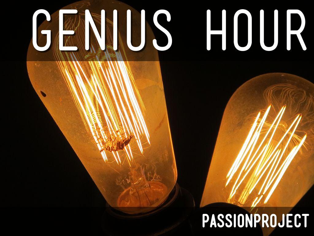 Genius Hour Launch