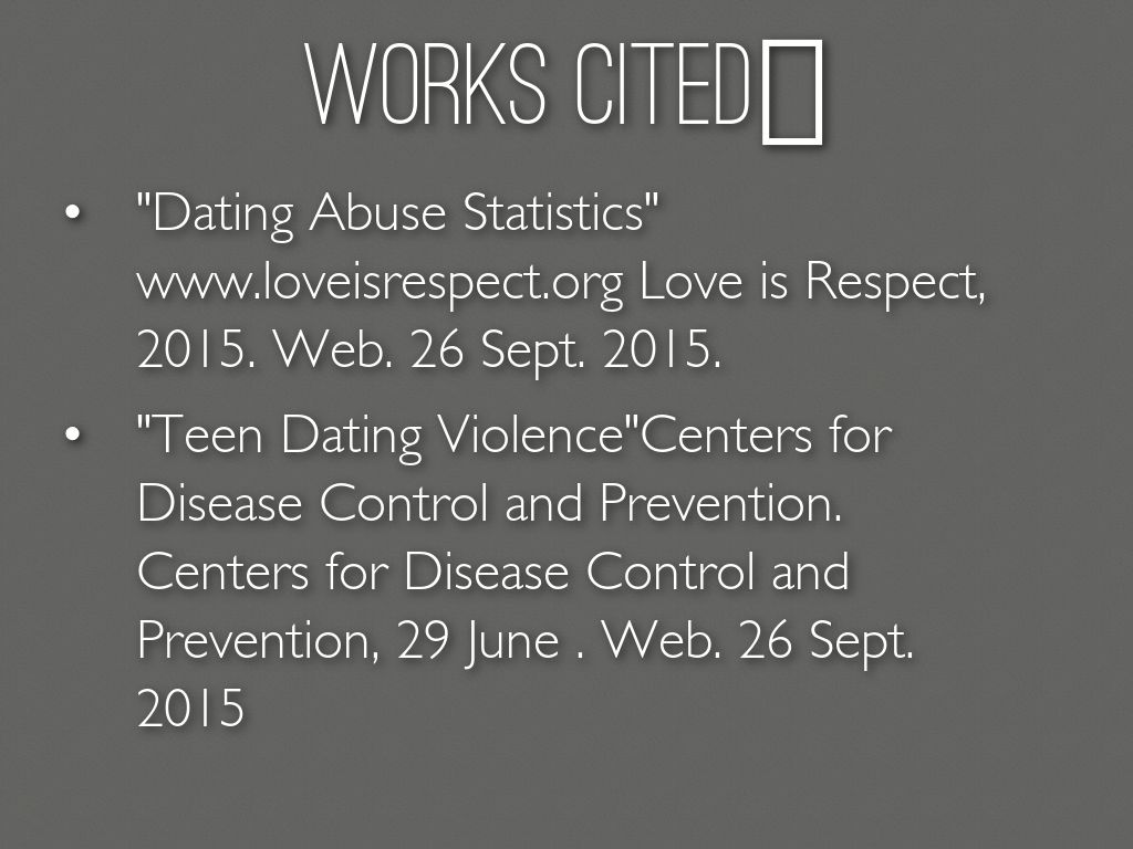 Dating abuse in college statistics california