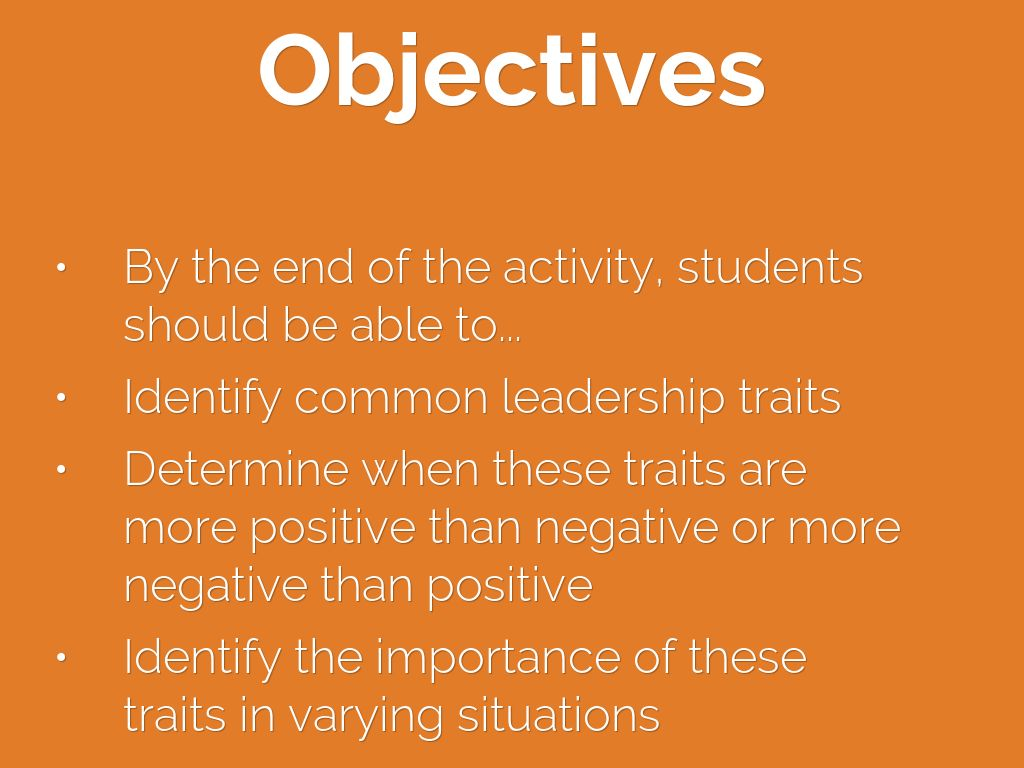 the importance of leadership traits What are the characteristics of a leader (upseu) ranks the desire to learn and organizational ability as the most important traits of leader.