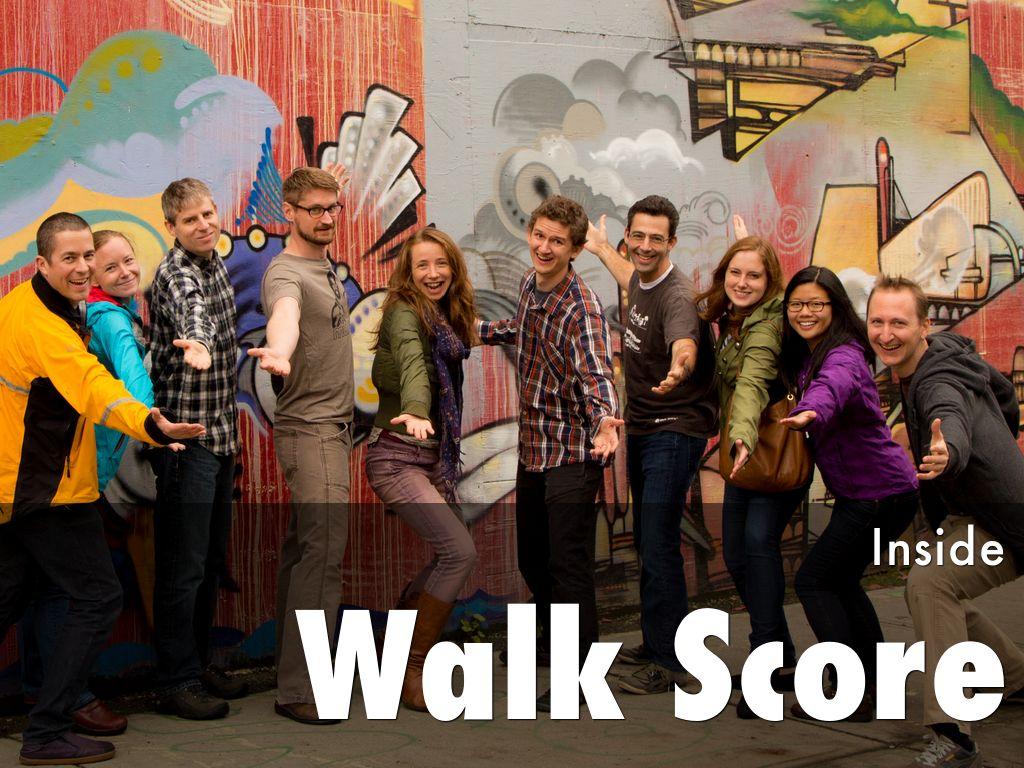 Inside Walk Score