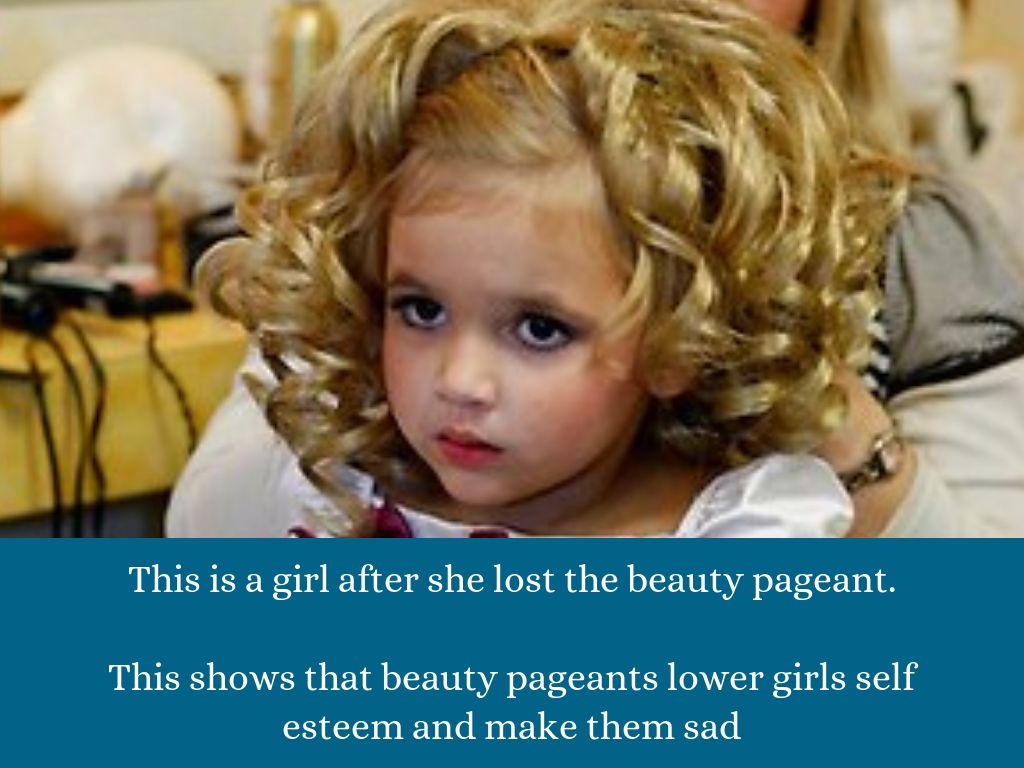 beauty pageants do more harm than good essay Pageant essay, final version :) by divas in diapers: the ugliness of children's beauty pageants the these girls look much older than they actually are and.