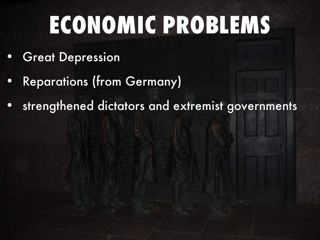 economic problems of the great depression Great depression, the longest, deepest, and most pervasive depression in american history, lasted from 1929 to 1939 its effects were felt in virtually all corners of the world, and it is one of the great economic calamities in history.