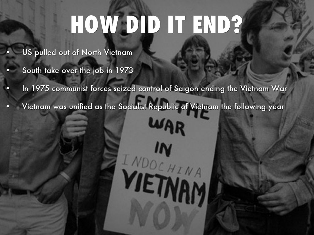 how did the vietnam war end 2 days ago  vietnam - world war ii and  occupation forces and was ousted only toward the end of the war  did not resolve the basic differences.