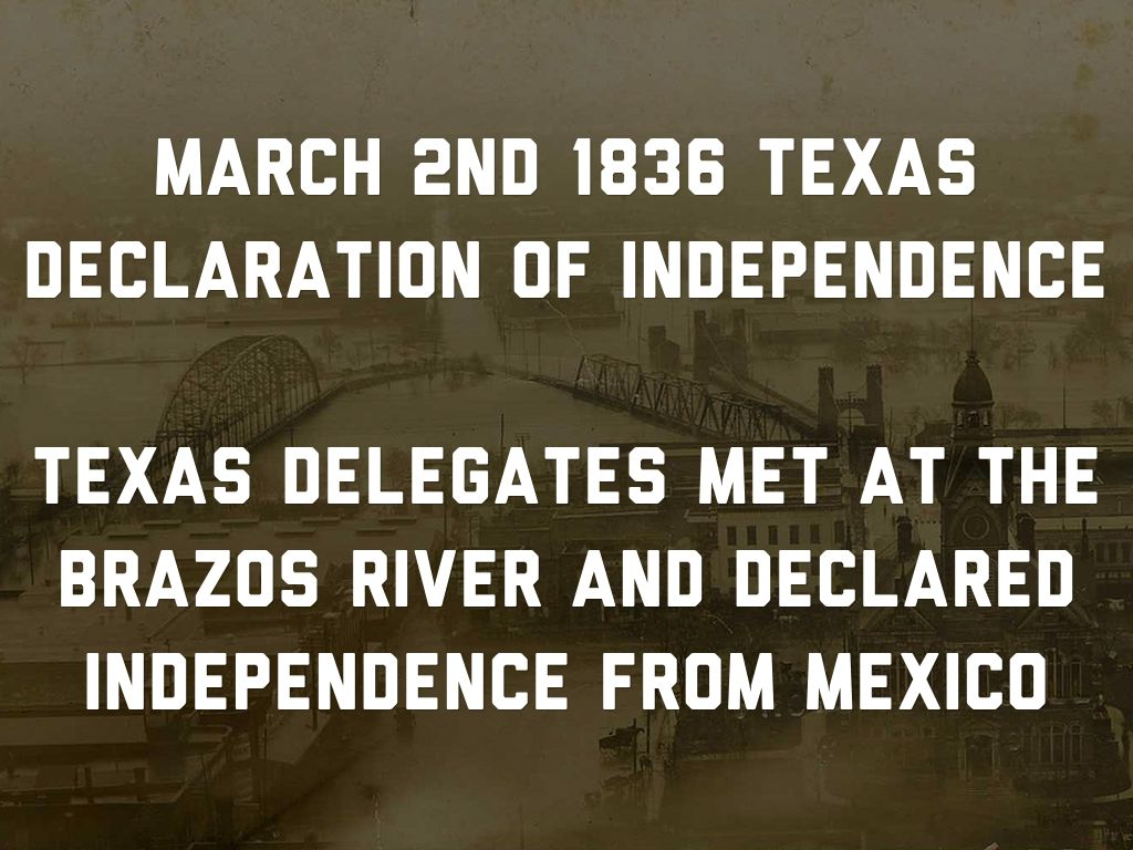 Copy Of Texas Revolution Timeline By Garret Tims