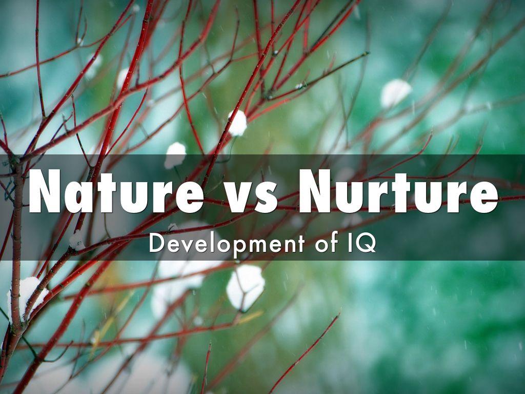 piaget nature vs nurture