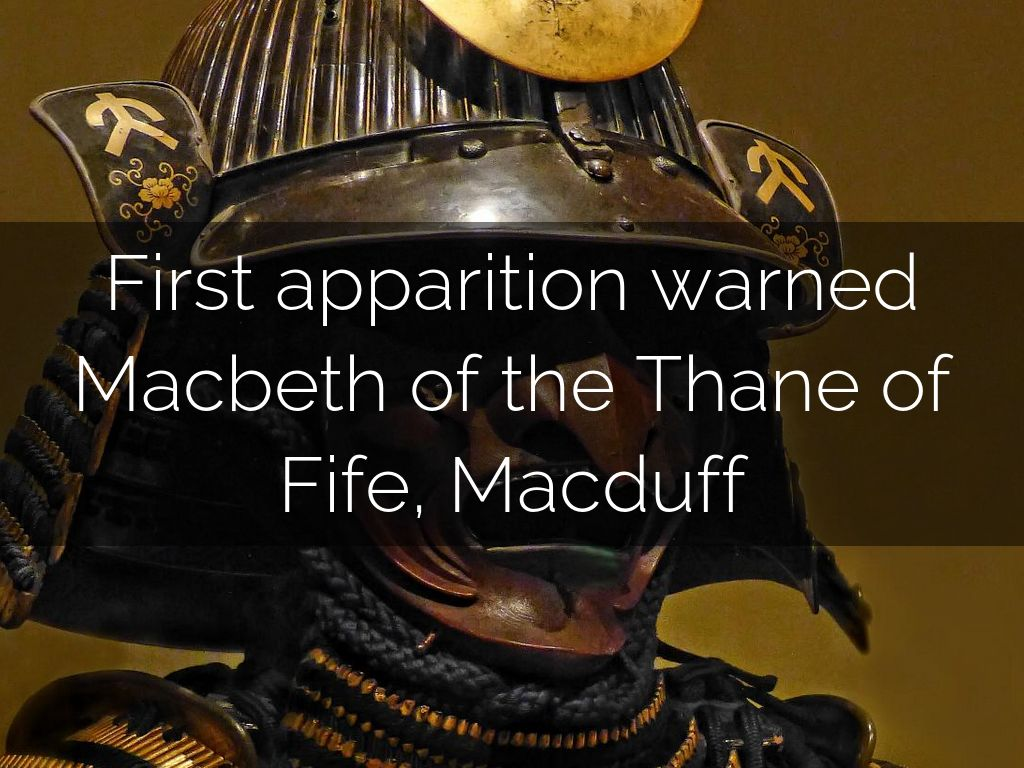 apparitions macbeth essay Write an essay in which you evaluate each of the three scenes in act iv of the tragedy of macbeth for dramatic effectiveness and contribution to plot development they might find the first scene effective because of its frightening, otherworldly quality.