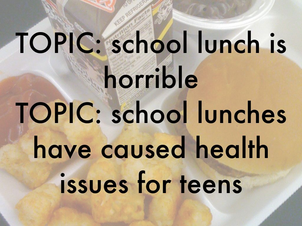 persuasive essay about school lunches I would hope not lets face it, we all hate school lunches most of the time they don't feed us enough food and it is very gross also.