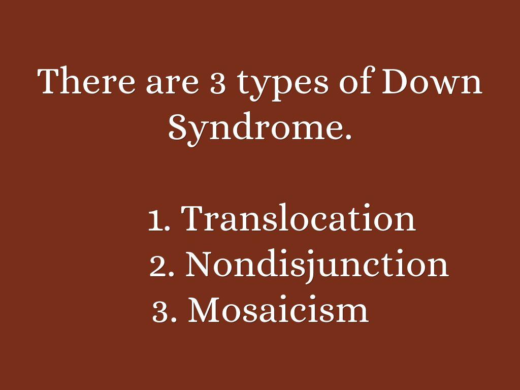 essay on downsyndrome
