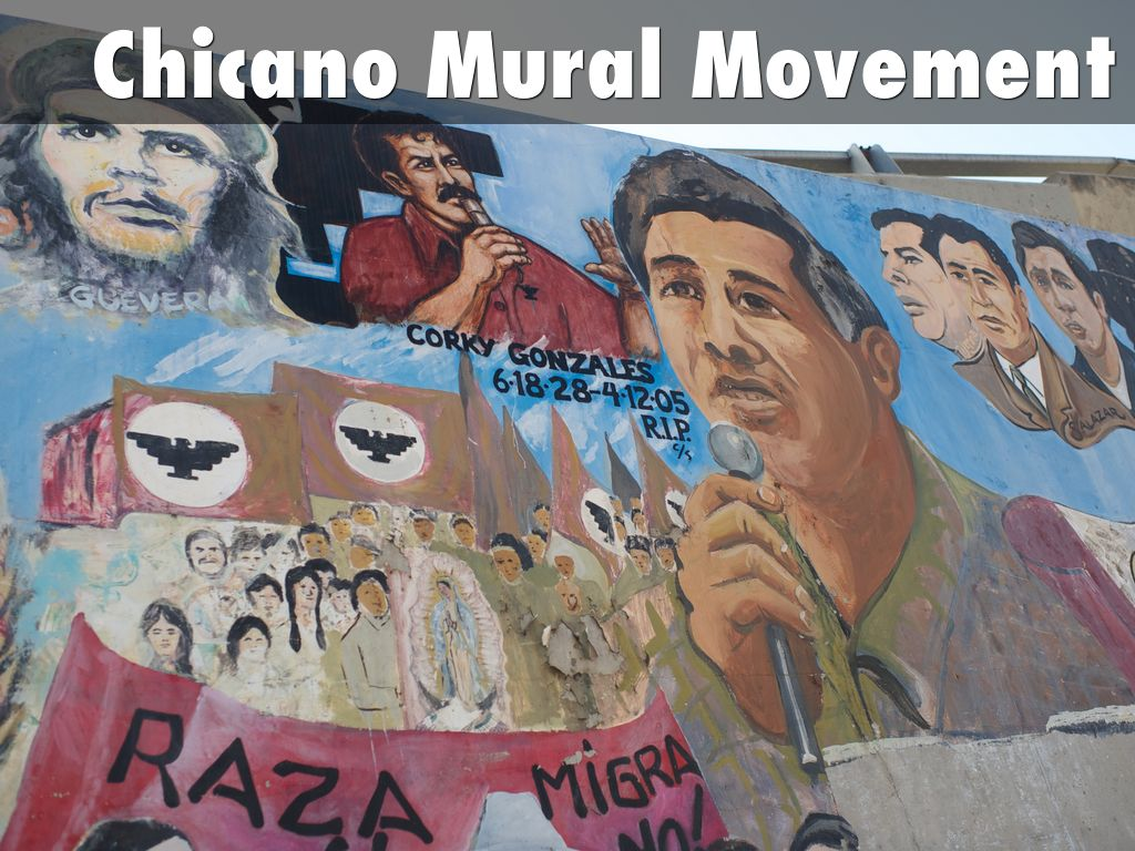 Chicano mural movement by zane forsythe for Chicano mural art