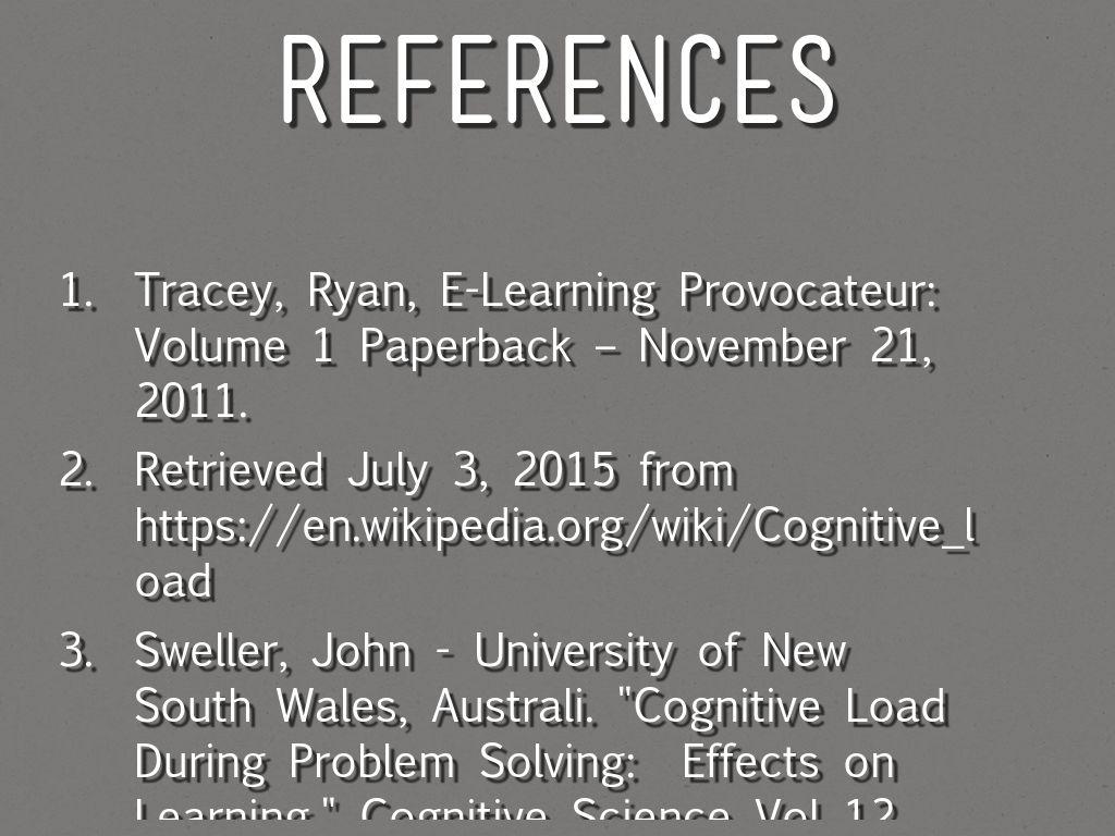 john sweller cognitive load theory pdf