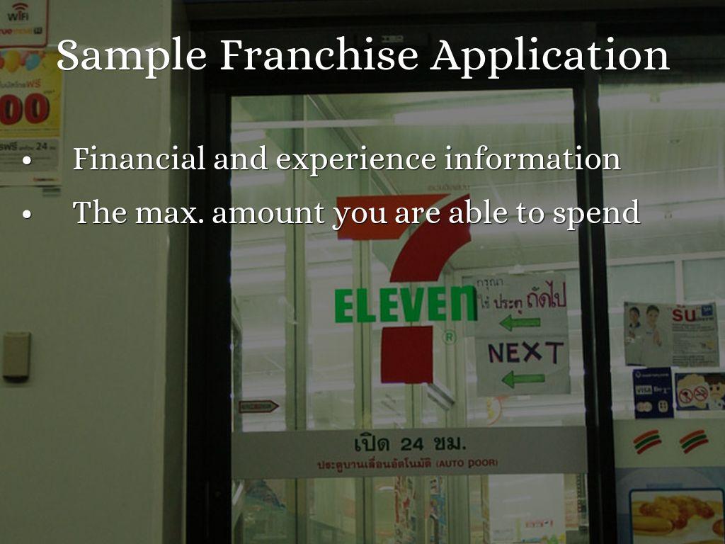 7 Eleven Franchise Business Presentation Bkrscofphn