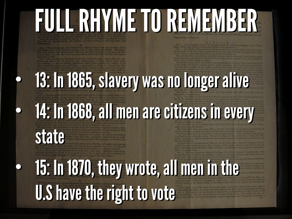 the 14th amendment of 1868 pushed for womens right to vote 14th amendment to the united states constitution - fourteenth amendment 1868 section 1 all but when the right to vote at any election for the choice of.
