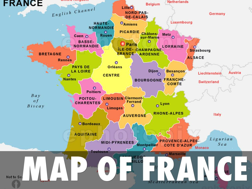 FranceVaughn By Gillian Vaughn - Major cities in france