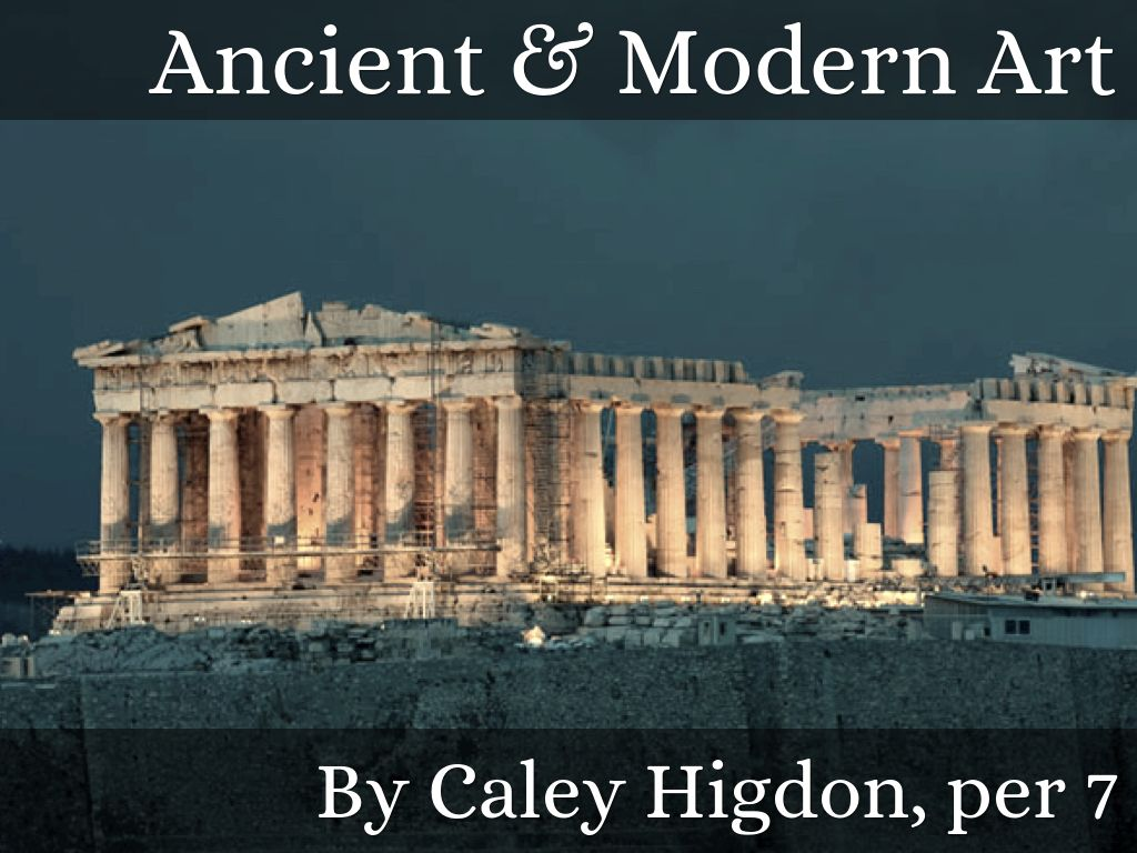 Modern Architecture Vs Ancient Greek Architecture ancient vs. modern artcaley hig