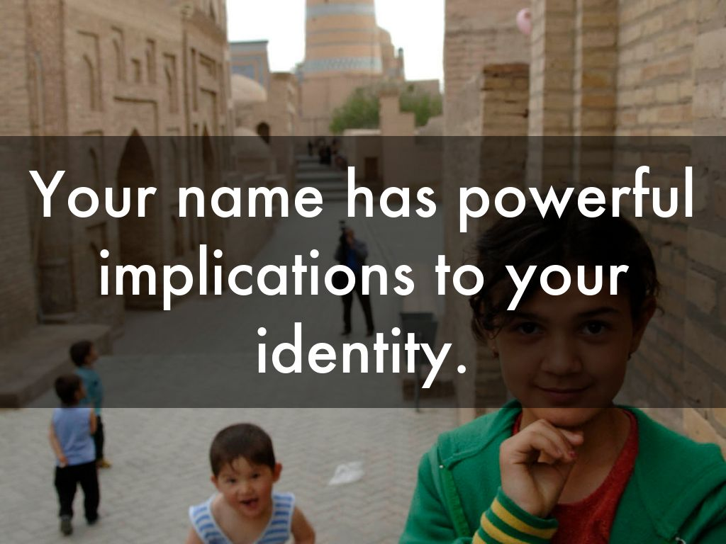 names have power