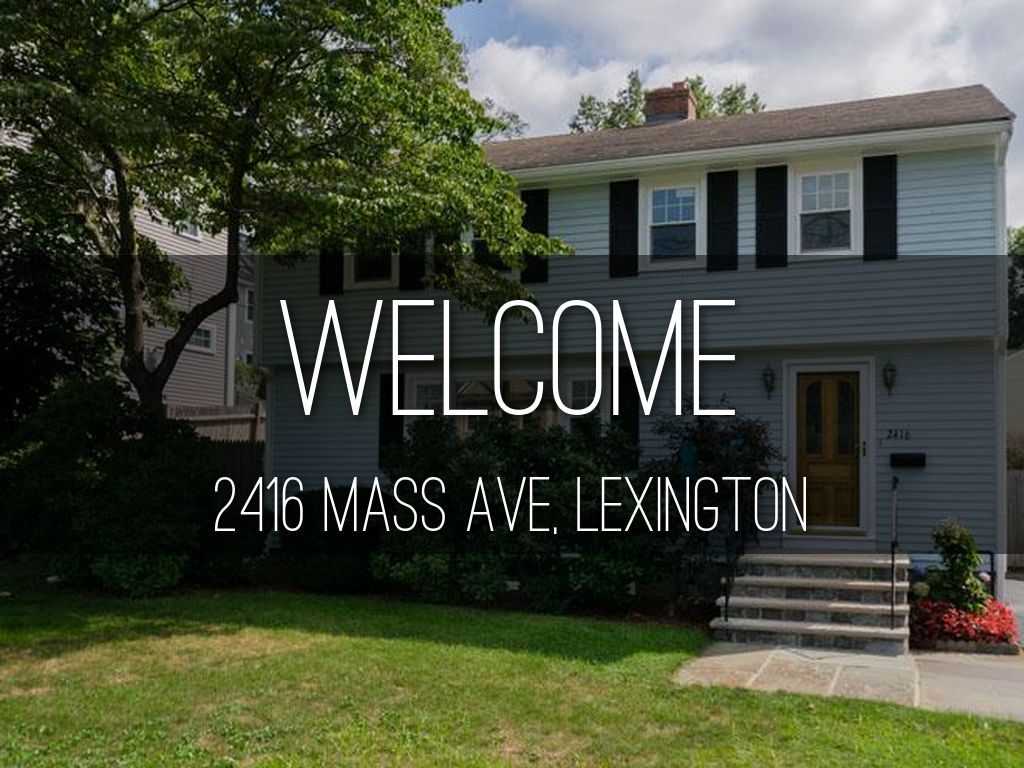 2416 Mass Ave, Lexington