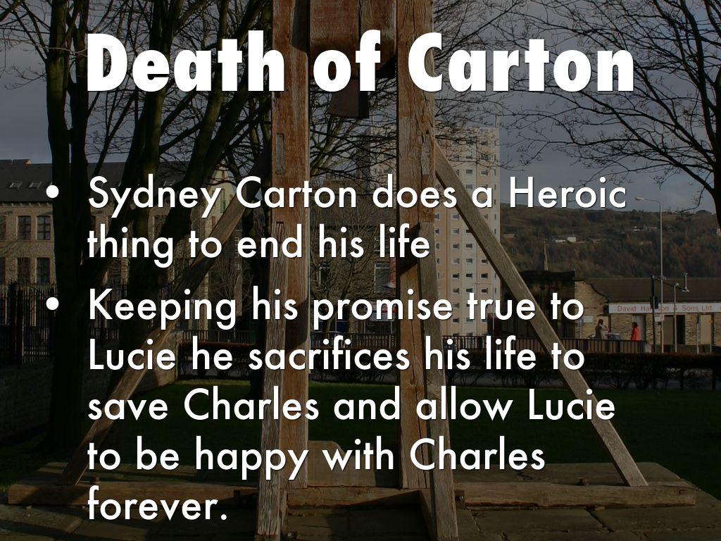 sydney carton sacrifice
