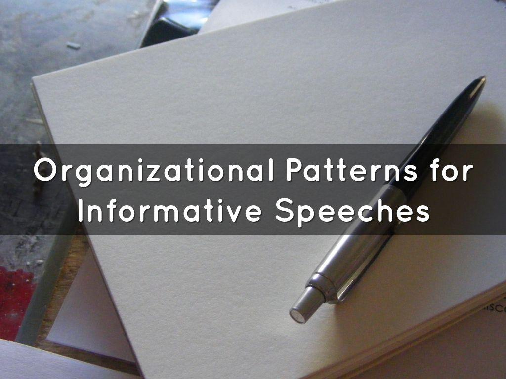 Topical Organizational Pattern Simple Inspiration Design