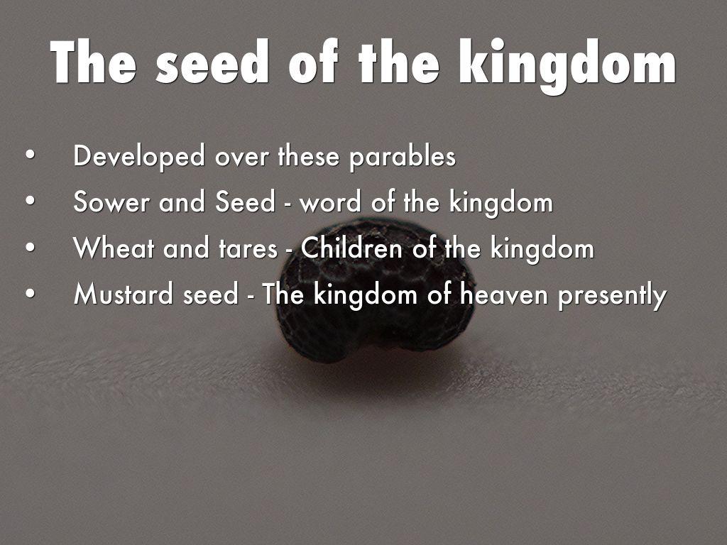 Parables of Jesus Christ by Matthew Garrett