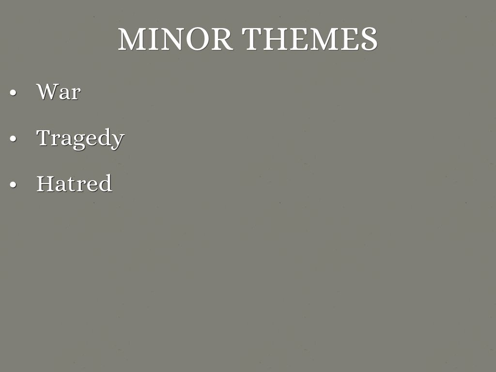the boy in the striped pyjamas by ocallac4 minor themes