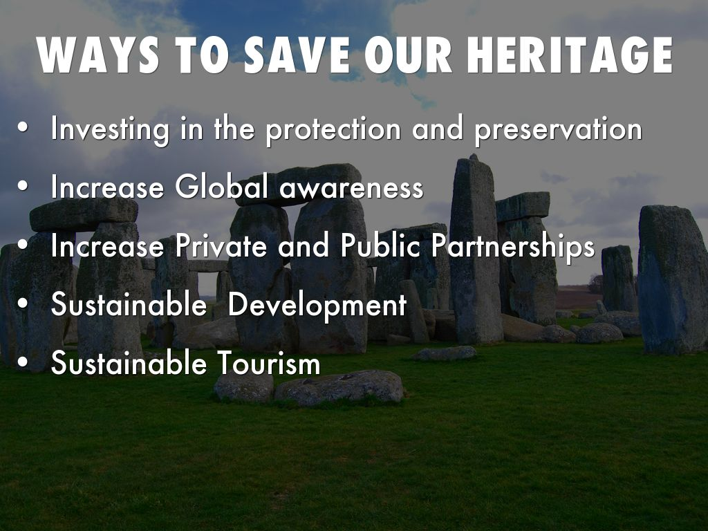 What is a National Heritage Area?