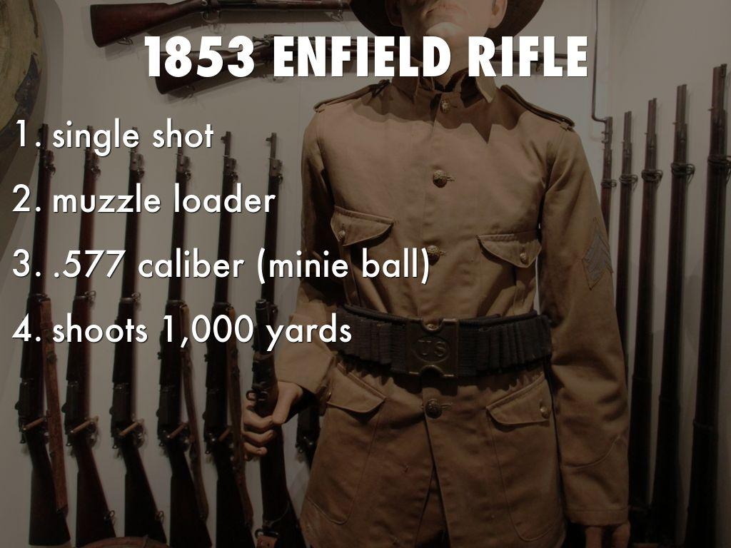 Civil War Rifles by Moises Villagomez