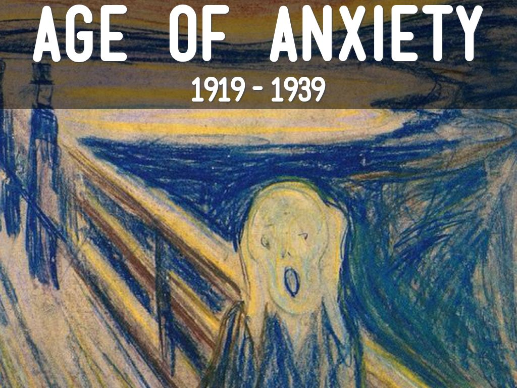 age of anxiety When it was first published in 1947, the age of anxiety--w h auden's last, longest, and most ambitious book-length poem--immediately struck a powerful chord, capturing the imagination of the cultural moment that it diagnosed and named.