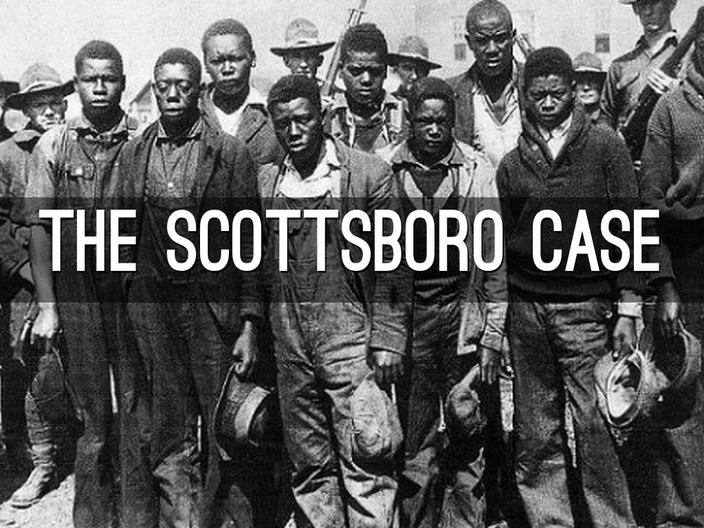 The Scottsboro Case By Dhstanley