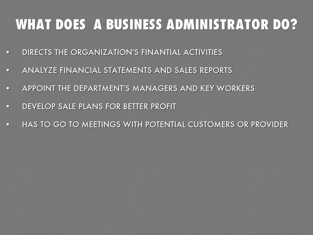 BUSINESS ADMINISTRATION by rafa7castillo