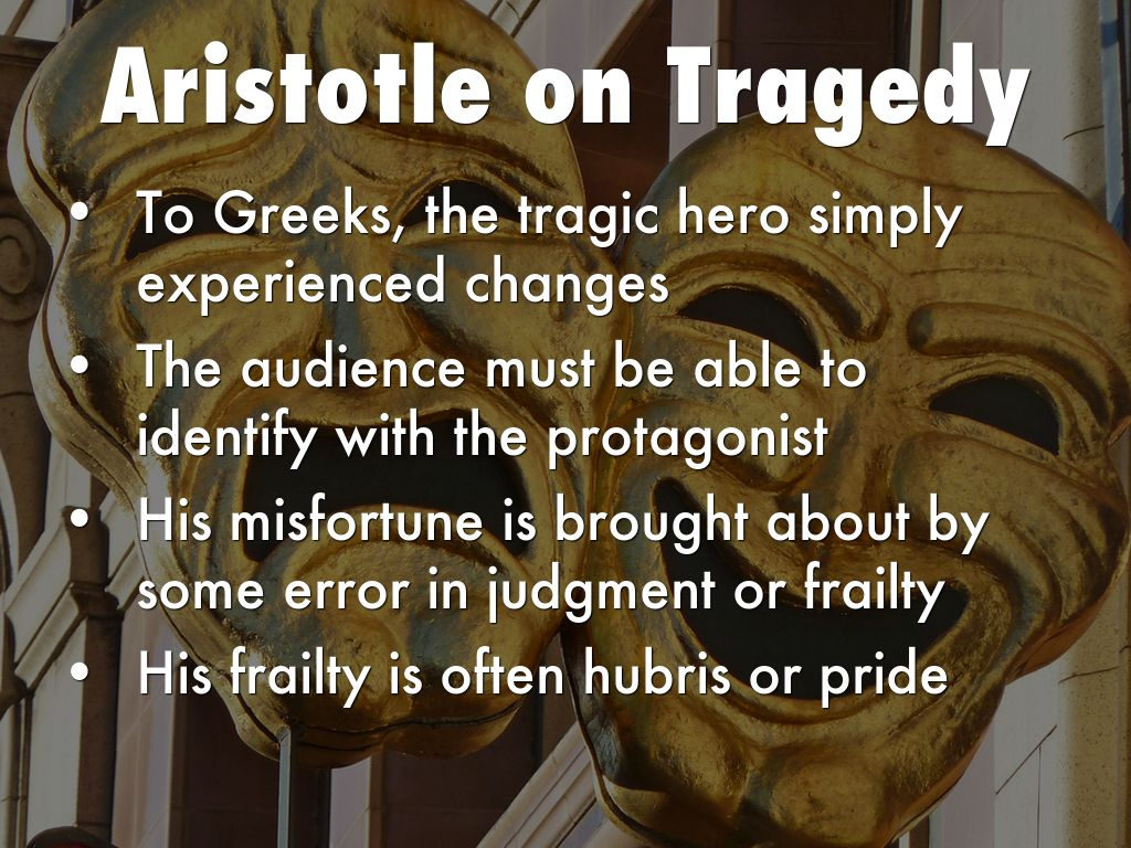 aristotle views on tragedy essay In aristotle's view, tragedy teaches us and averroes interpreted and developed aristotle's views in with a supplementary essay by.