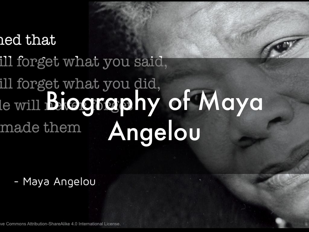 a brief biography of maya angelou A short biography of author and poet maya angelou who wrote the bestselling autobiography, i know why the caged bird sings this website uses cookies for analytics, personalization, and advertising.