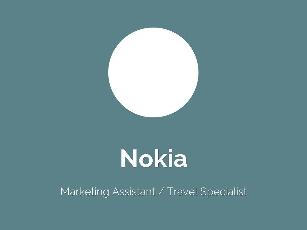 marketing of nokia