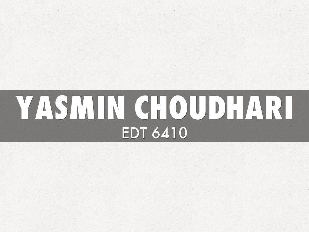 Yasmin Choudhari