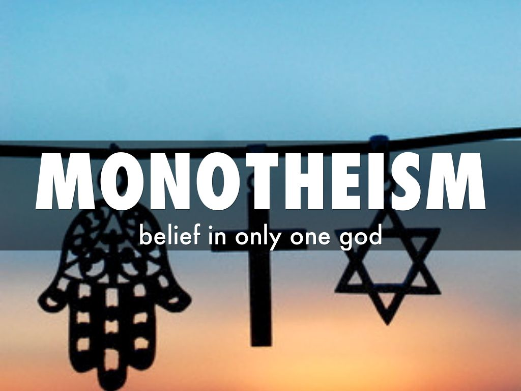 an introduction to the comparison of polytheism and monotheism I thought of this topic as an adequate introduction to many others to follow before polytheism is considered and discussed in itself, it ought to be first distinguished from monotheism.