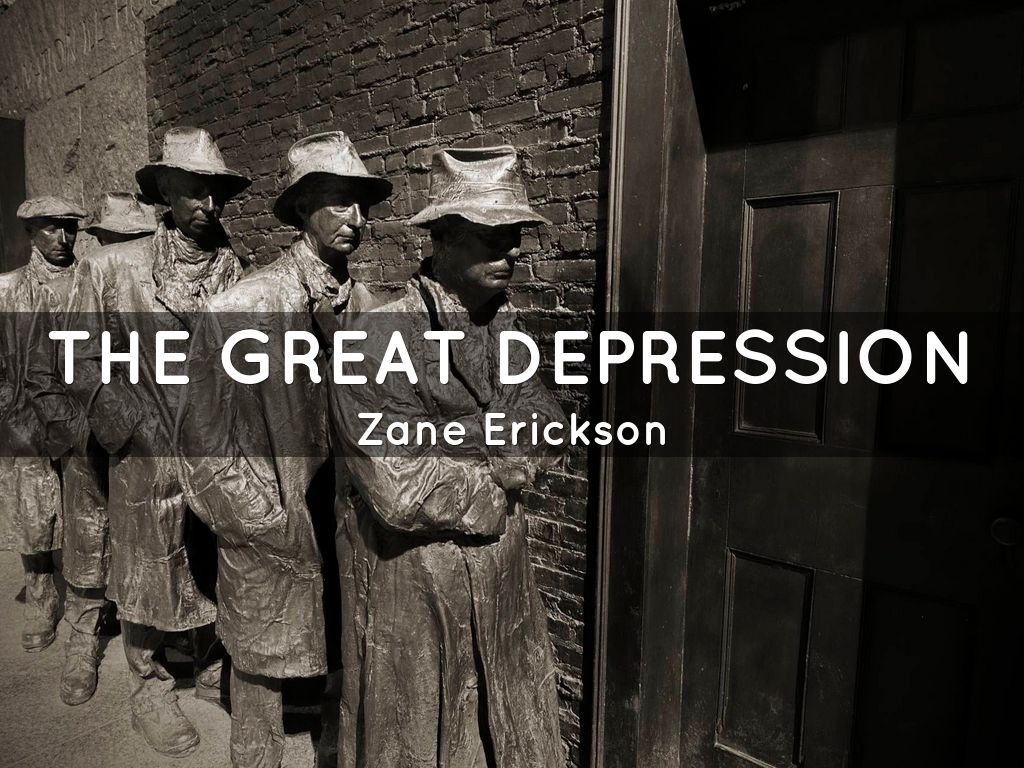 the great depression by zme6017 the great depression