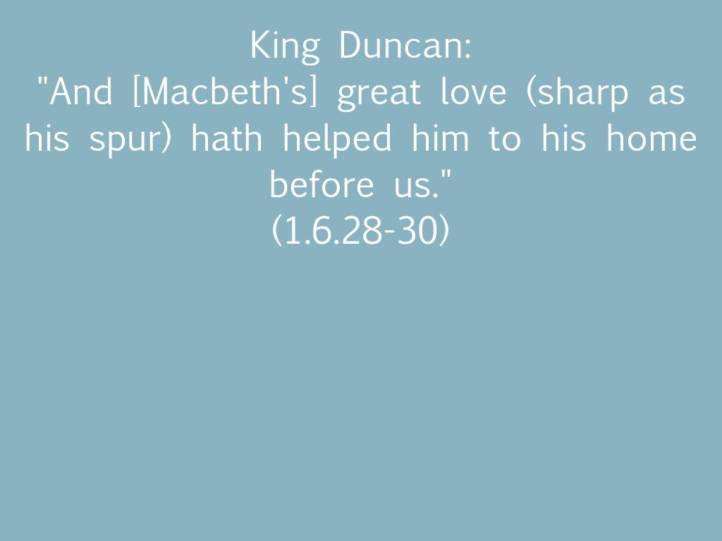 macbeth as a man of respect A summary of act 1, scenes 5–7 in william shakespeare's macbeth learn exactly what happened in this chapter, scene, or section of macbeth and what it means.
