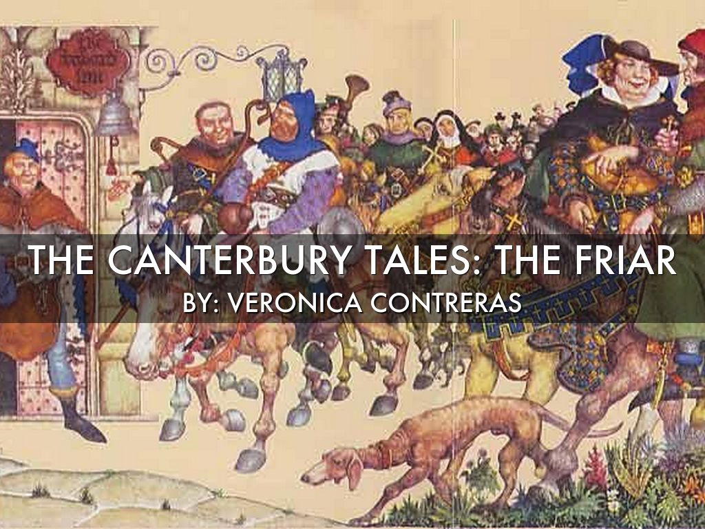 the friar canterbury tales