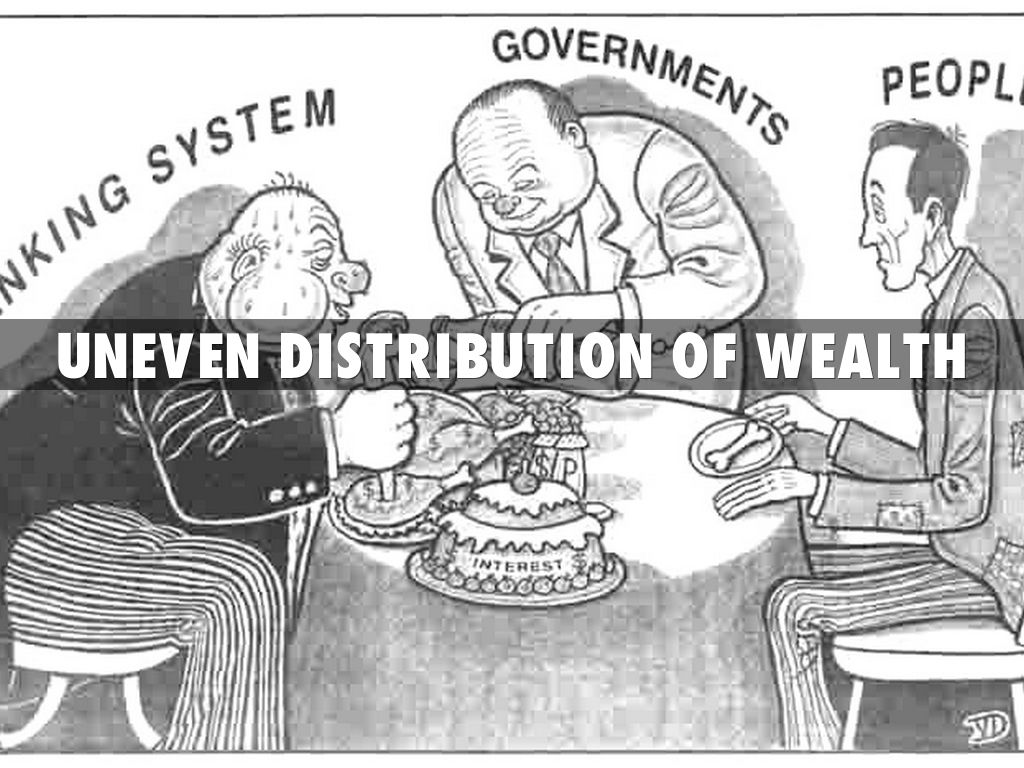 "essay on unequal distribution of wealth Some thoughts on inequality of wealth and the moral claims we may make on or unequal distribution of ""wealth"" that should essays on the theory of the."