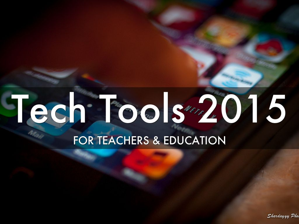 Tech Tools 2015