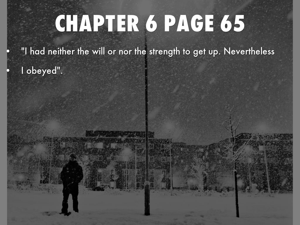 night by elie wiesel pdf chapter 5