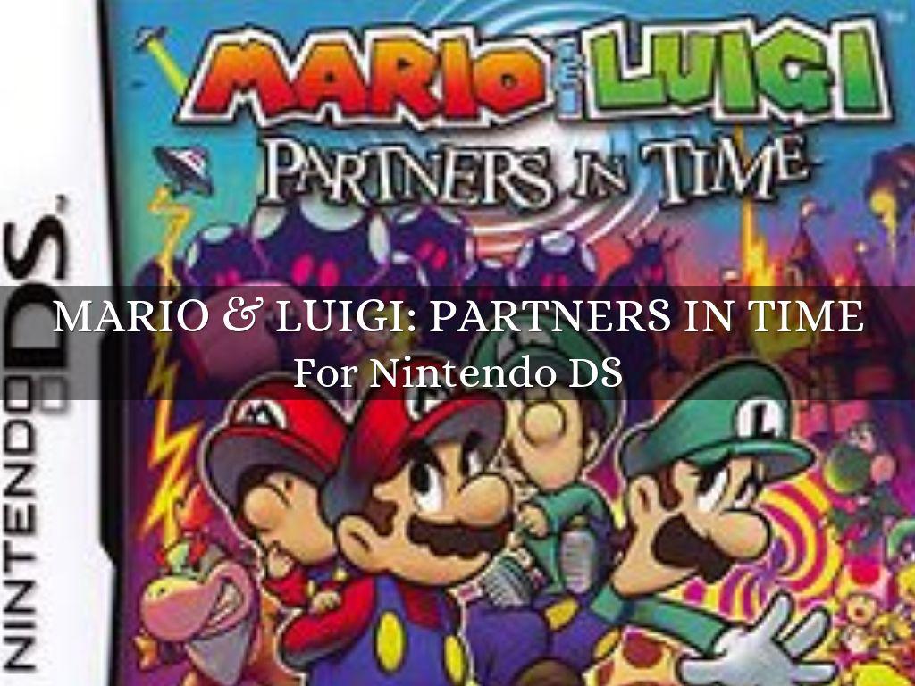 Mario Luigi Partners In Time By Newtrollperson