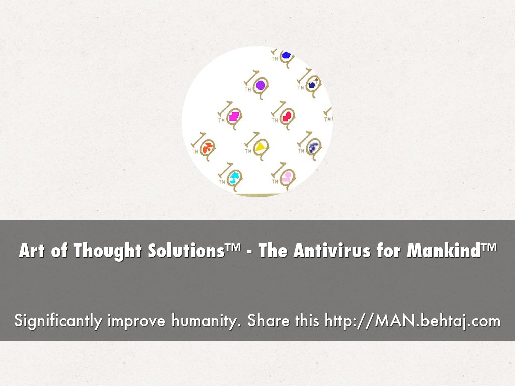 Art of Thought Solutions™ - The Antivirus for Mankind™