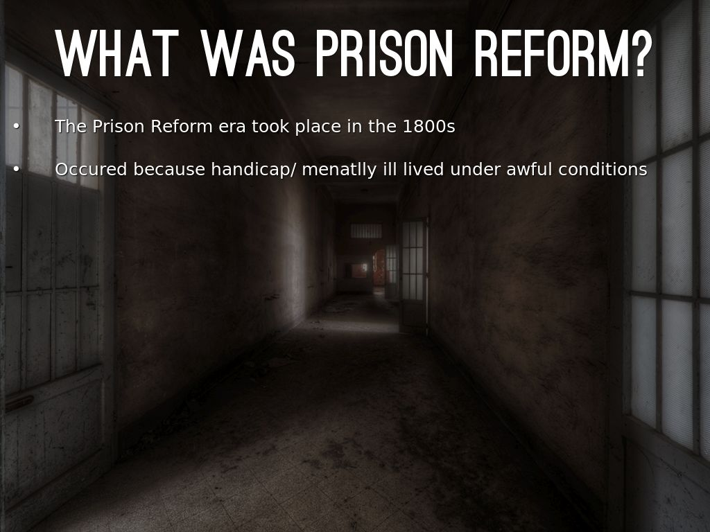 prison reform is necessary must focus on Check out the online debate is prison a moral and necessary  only that individual prisons should focus more on  there must exist a necessary inverse.