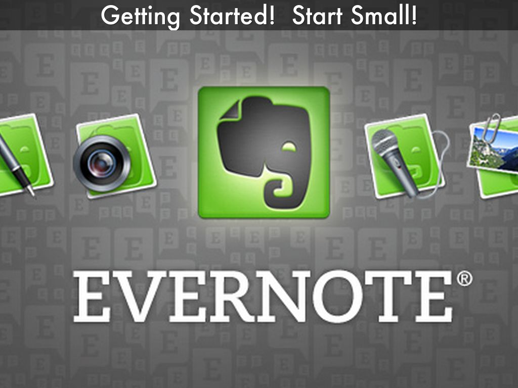 Struggling with Evernote for Real Estate? Start Small.