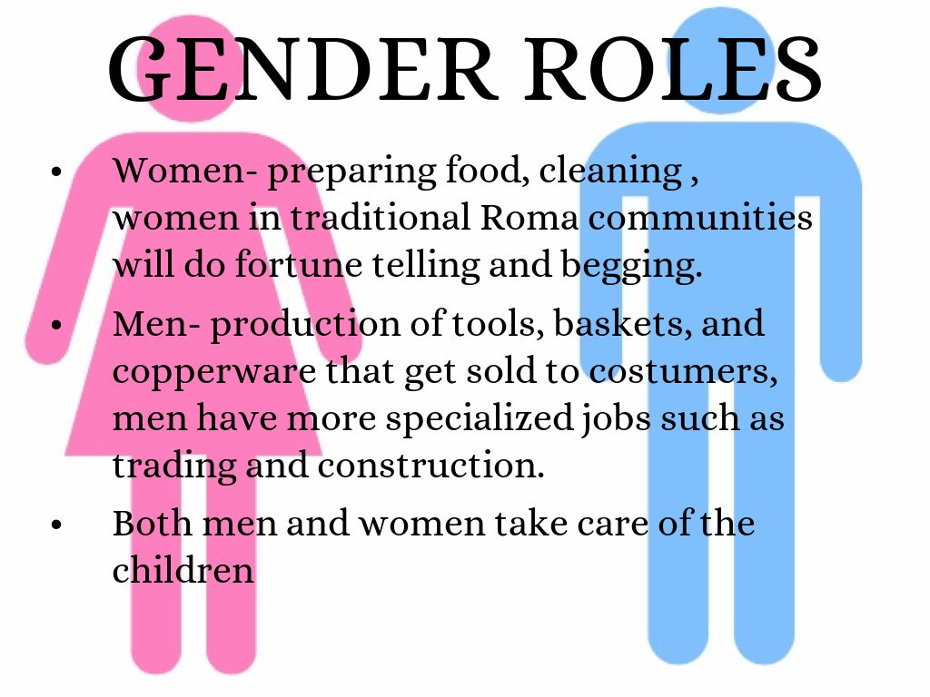 the issue of gender roles in society term paper example - 2260 words