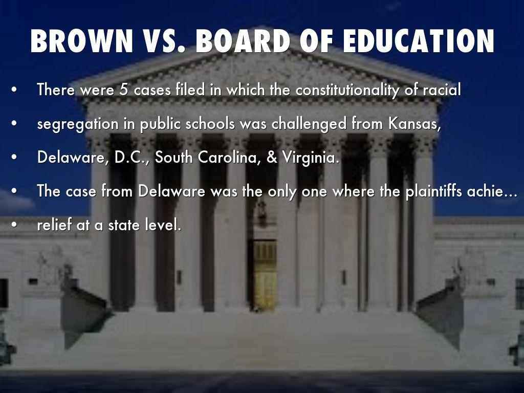 Supreme Court Ruled Against State of Kansas on Segregation Case